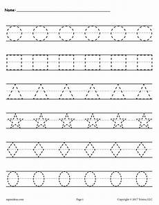montessori letter tracing worksheets 23916 shapes tracing worksheets shape tracing worksheets tracing worksheets preschool worksheets