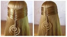 tuto coiffure simple coiffure pour tous les jours cheveux
