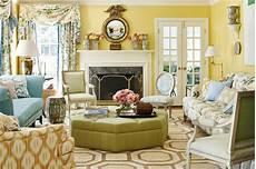 mark sikes mountain brook alabama ragan cain veranda magazine pale yellow walls living room