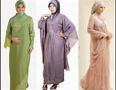 11 Model Baju Gamis Untuk Orang Gemuk Pendek