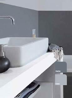peinture hydrofuge salle de bain peinture pour salle de bain gris souris et anthracite v33