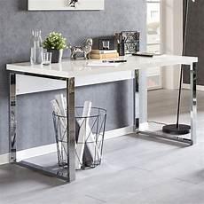 designer schreibtisch weiß wohnling design schreibtisch carlie 140x70x76 cm gro 223 wei 223
