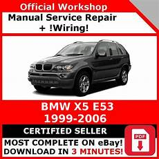 manual repair free 2006 bmw x5 spare parts catalogs factory workshop service repair manual bmw x5 e53 1999 2006 wiring ebay