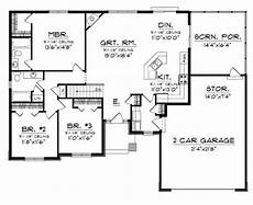 simple open house plans floor plans aflfpw76173 1 story craftsman home with 3