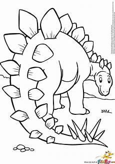 Ausmalbilder Dinosaurier Stegosaurus Stegosaurus 0 00 Kleurplaten Dinosaurussen En Prehistorie