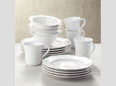 Savannah 16 Piece Dinnerware Set   Reviews   Crate and Barrel