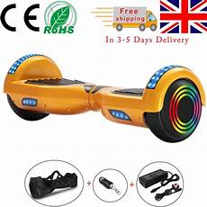 gold hoverboard 6 5 inch self balancing electric scooter
