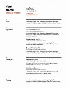 5 docs resume templates and how to use them the