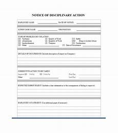 employee disciplinary action form with checklist clergy coalition