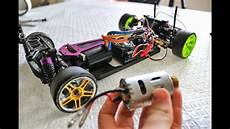 how to convert brushed rc car to brushless