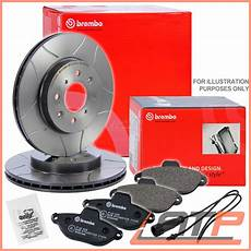 brembo sport max brake discs 216 312 vented pads front vw
