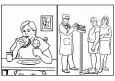 malvorlage gesundheit nahrung kostenlose ausmalbilder