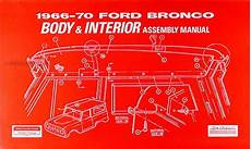 book repair manual 1963 ford e series interior lighting 1969 ford bronco econoline and p series wiring diagrams