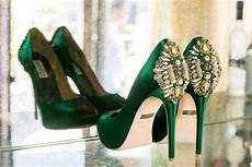 Emerald Green Heels For Wedding a vintage glam emerald green wedding every last detail