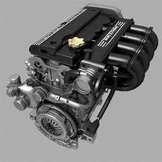 Car 4 Cylinder by Car 4 Cylinder Engine 02 3d Model Max Fbx Cgtrader