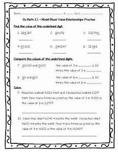 go math practice 4th grade 1 1 model place value relationships worksheet
