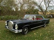 buy used 1962 mercedes 220 se coupe 4 on the floor