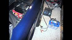 corvette battery dead below 10 volts how to charge by