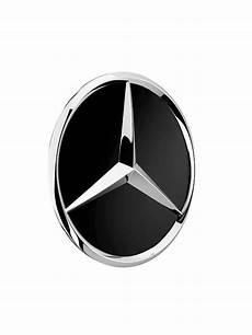 mercedes nabendeckel schwarz erhaben auto
