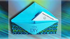geldbeutel falten origami