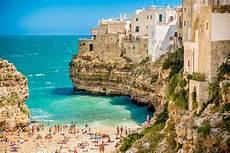 les pouilles italie photos le talon de la botte italienne polignano a mare
