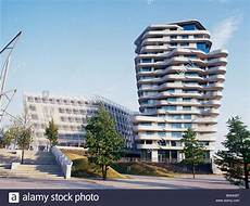 Hamburg Marco Polo Tower - the new marco polo tower in hamburg build by behnisch