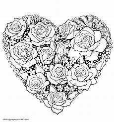 flower coloring pages at getcolorings free