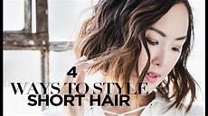 Ways To Style Hair