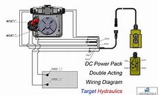 hyd motors wiring diagram 220v how to wire dc motor acting power pack target hydraulics