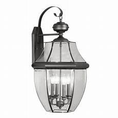 livex lighting 2356 04 black monterey 4 light outdoor wall sconce lightingdirect com