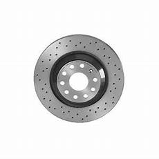 Brembo Xtra Rear Brake Disc Rotor Drilled 310mm For Audi