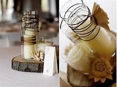 diy rustic wedding centerpieces once wed
