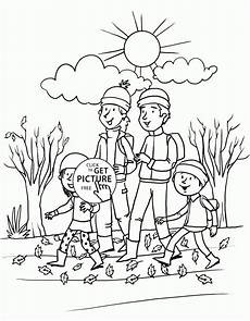 Gratis Malvorlagen Herbst Happy Fall Day Coloring Pages For Seasons Autumn