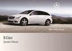 free car manuals to download 2009 mercedes benz g class spare parts catalogs 2009 mercedes benz r350 r350 bluetec v251 owners manual
