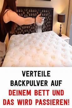 Sie Versch 252 Ttete Backpulver Auf Dem Bett Und Sofort Nach