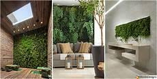 idee design casa giardino verticale interno 25 idee per pareti verdi in