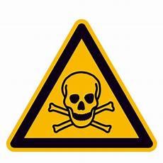 Bei Anmelden Gefährlich - warnschild warnung vor giftigen stoffen direkt beim