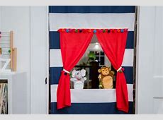 DIY Doorway Puppet Theater   HGTV