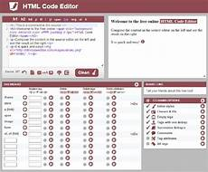 html code editor instant preview