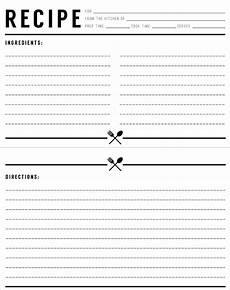 17 recipe card templates free psd word pdf eps