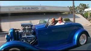 Johnny Hallyday Au Volant De Sa Hot Rod Los Angeles  YouTube