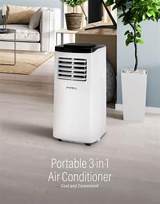 klimaanlage schlafzimmer leise rhpa 18001 3 in 1 8k btu portable air conditioner