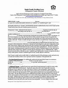 montgomery county lease single family ez landlord forms