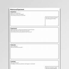 behavioural experiments worksheets 12670 behavioral experiment activation worksheet pdf psychology tools