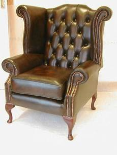 leather chesterfield chair ebay
