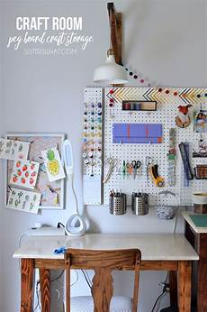 craft room peg board craft storage tour what