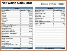 10 assets and liabilities spreadsheet template excel spreadsheets group