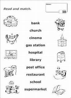places in our community worksheet free esl printable worksheets blocks community