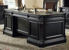 home executive office furniture hooker furniture home office telluride 76 quot executive desk