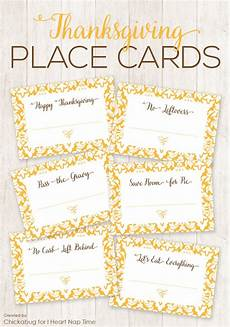 thanksgiving place cards i nap time